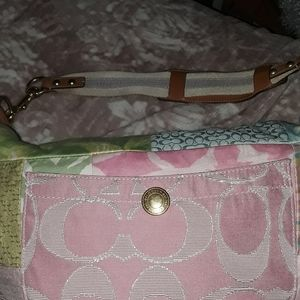 Pastel patches Coach hobo